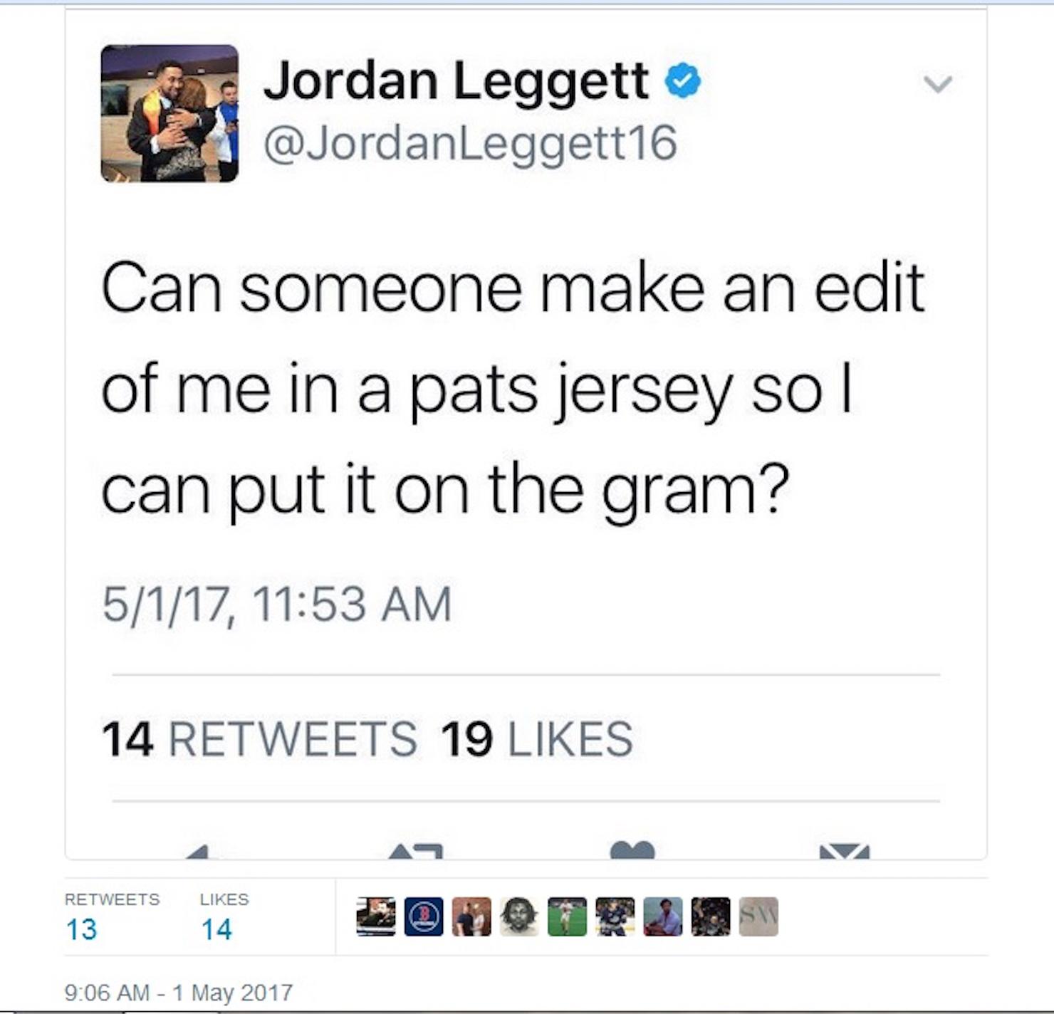 Jordan Leggett Jersey